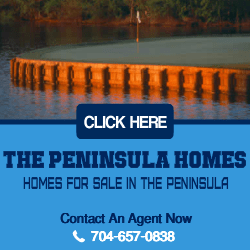 Homes For Sale in The Peninsula on Lake Norman