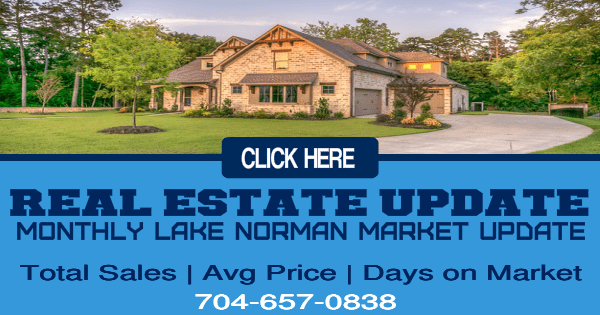 Lake Norman Real Estate Market Update August 2019