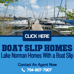 Lake Norman Boat Slip Homes For Sale